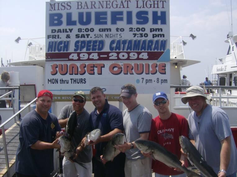 Photo gallery nj shore rental for Miss barnegat light fishing report